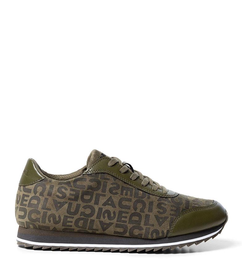 Comprar Desigual Pegaso Desigual khaki sneakers