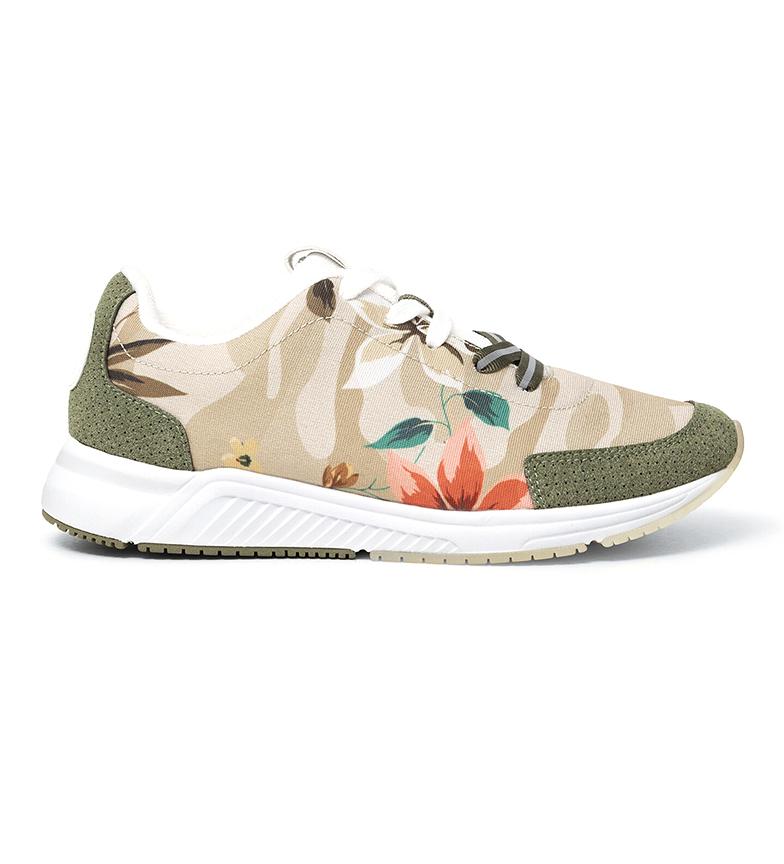 Comprar Desigual Sneakers Runner Camoflower green