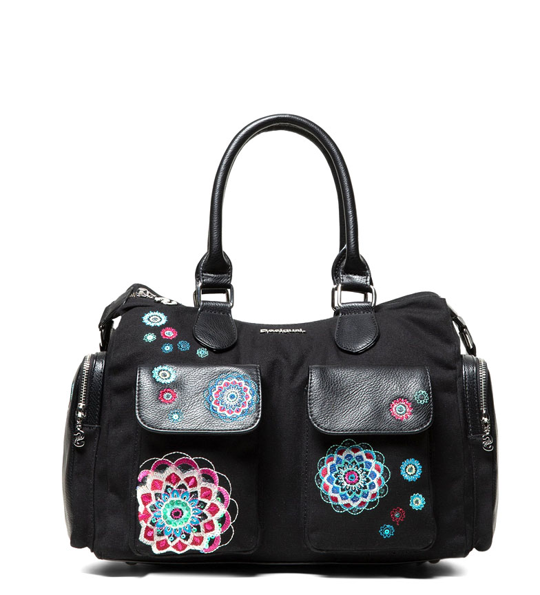 Comprar Desigual Bolso Aliki London New negro -32x25.5x15.5cm-