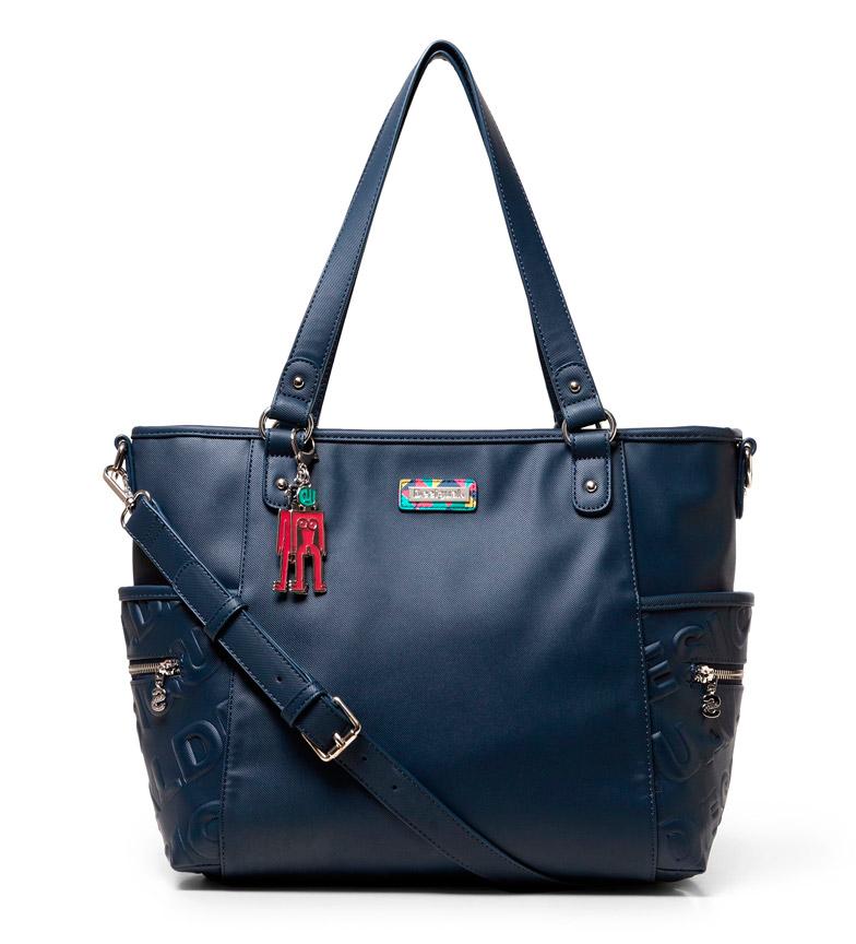 Comprar Desigual Maxton Colorama borsa blu -27x32x32x9.7cm