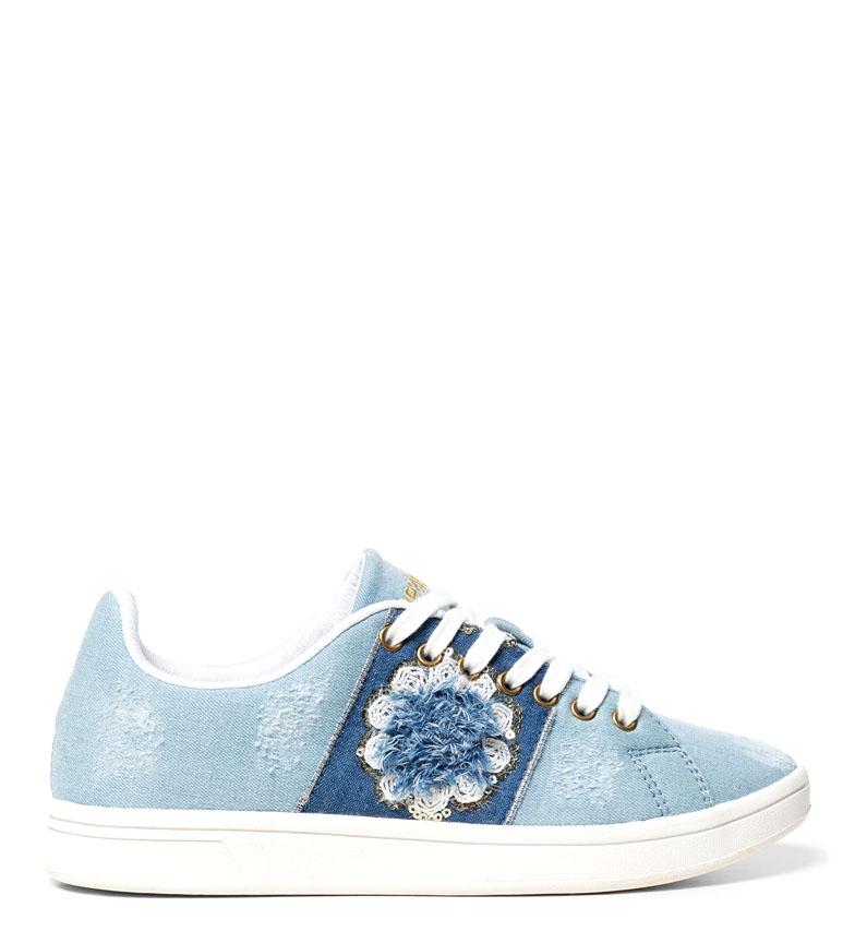 Comprar Desigual Zapatillas Cosmic Exotic Denim azul