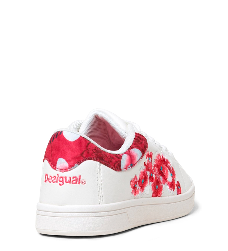 Blanco Desigual Zapatillas Zapatillas Hindi Dancer Desigual Hindi Dancer 3RLq4Aj5