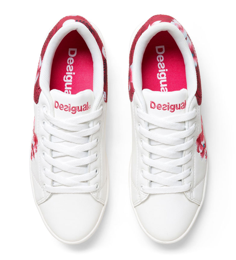 Blanco Dancer Desigual Desigual Zapatillas Hindi oerdCxB