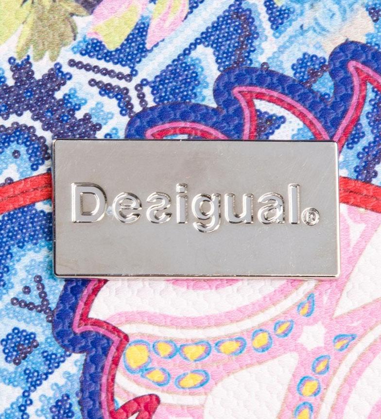 Desigual-Borsa-Mexican-Cards-Donna-Casual-Multicolore-Sintetico miniatura 5
