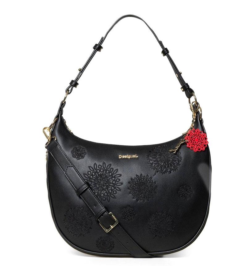 Comprar Desigual Bolso Abby Siberia negro -36,15x2,50x24,80cm-