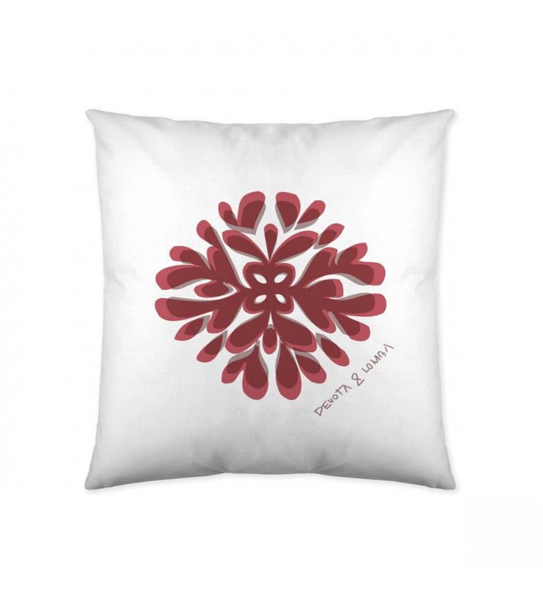 Comprar Devota & Lomba Capa de almofada reversível Brach branco -60x60cm-