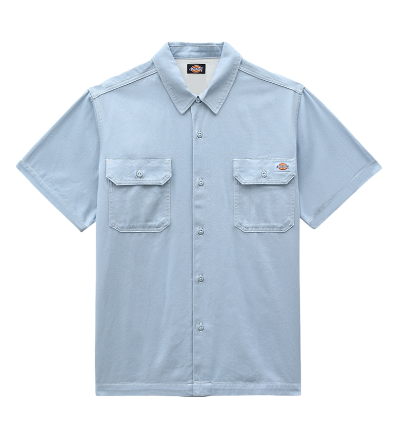 Dickies Camisa Wolverton azul