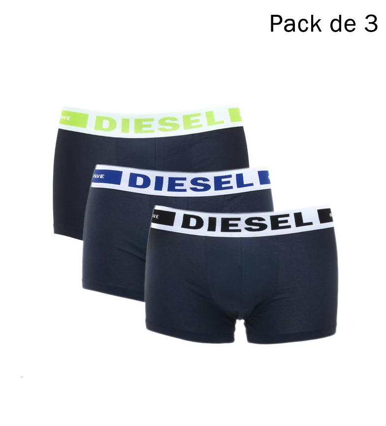 Comprar Diesel Pack 3 Kory Boxers black