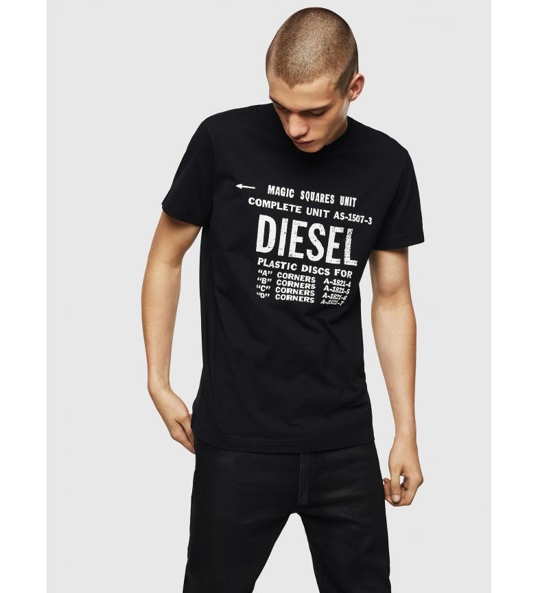 Comprar Diesel Camiseta Diego 00SXE6 negro