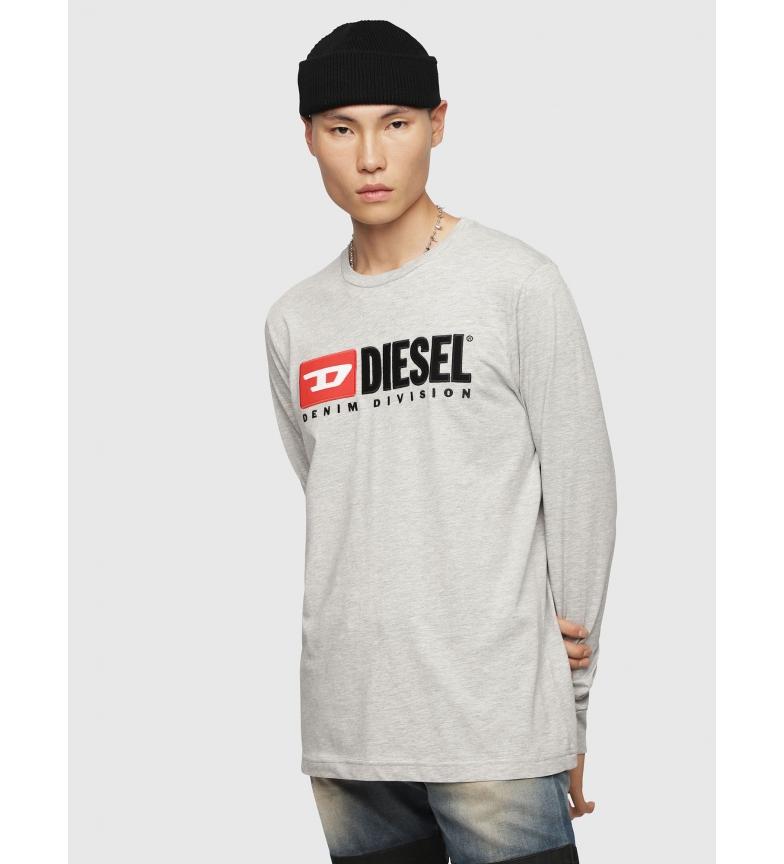Comprar Diesel T-shirt cinzenta da Just LS Division