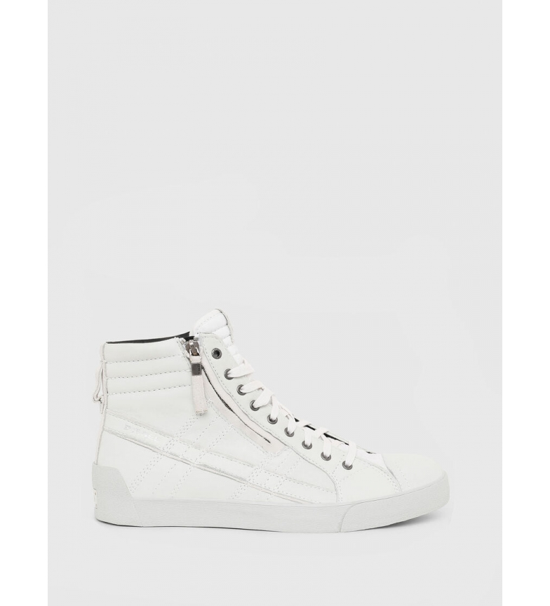 Comprar Diesel D-String Plus leather sneakers white