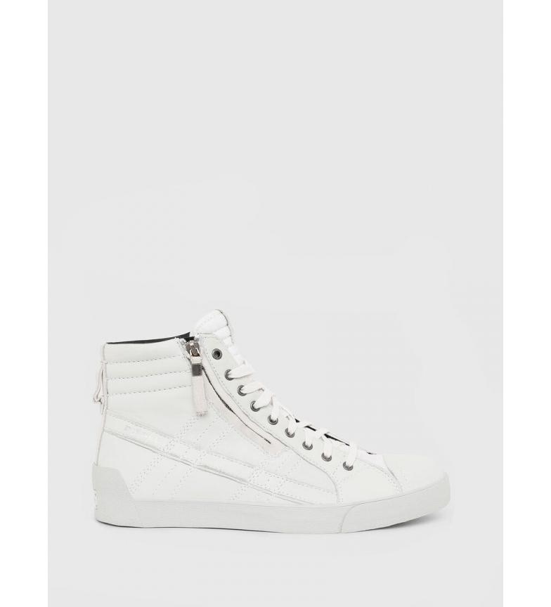 Comprar Diesel Sneaker in pelle bianca D-String Plus