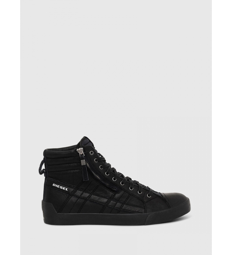 Comprar Diesel D-String Plus leather sneakers black