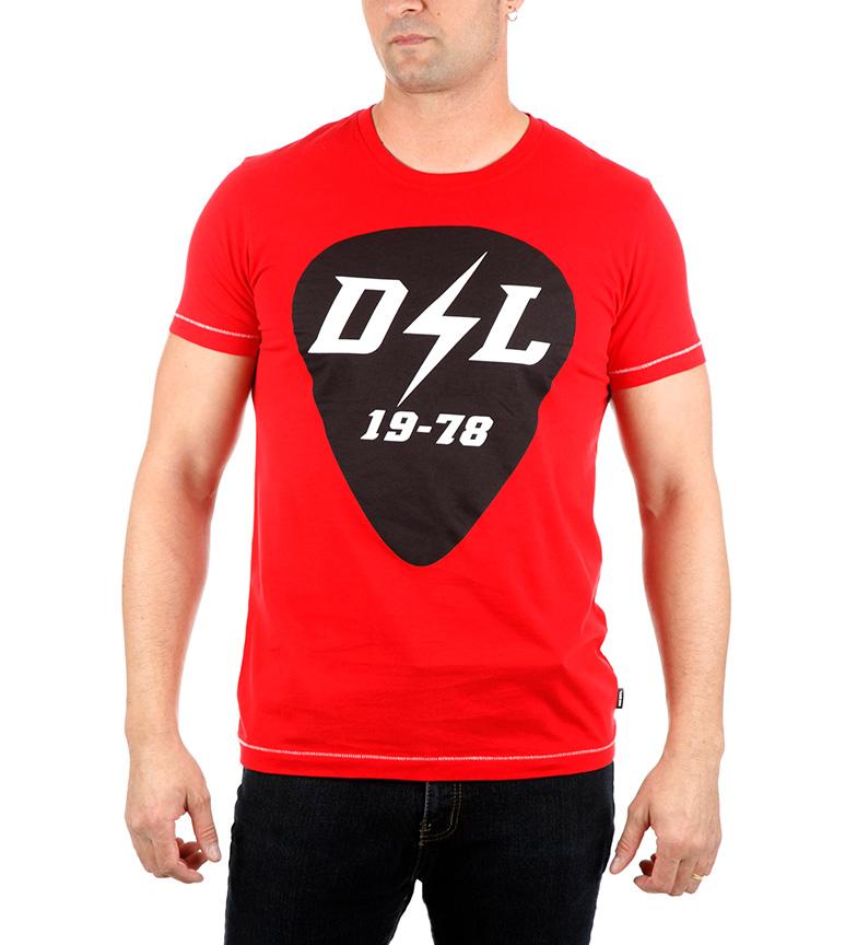 Diesel Camiseta Diego RB rojo