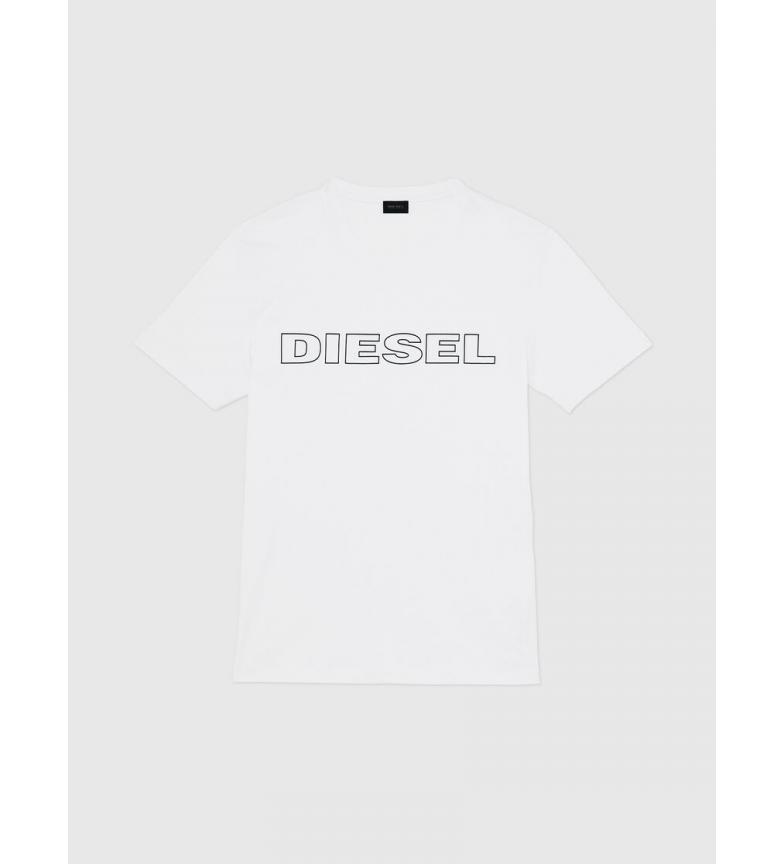 Comprar Diesel Camiseta Umlt-Jake blanco