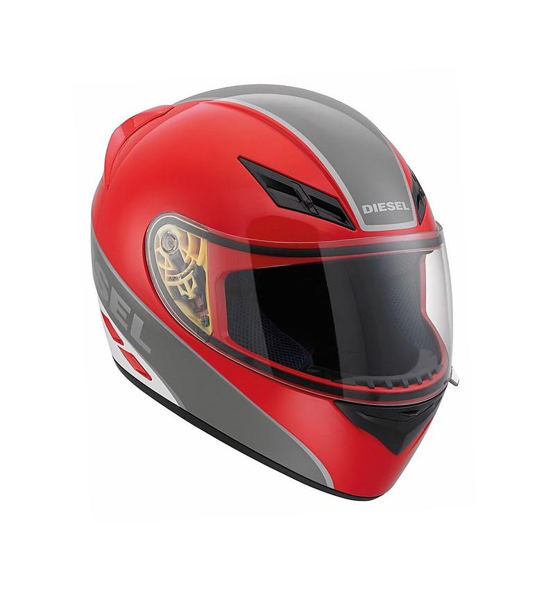Comprar Diesel Integral helmet AGV Diesel Full Jack Logo red gunmetal gr