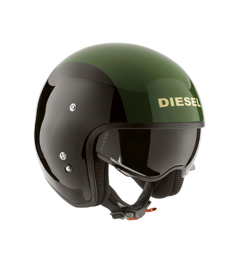 Comprar Diesel Casco jet aviador AGV Diesel Hi Jack muti black green