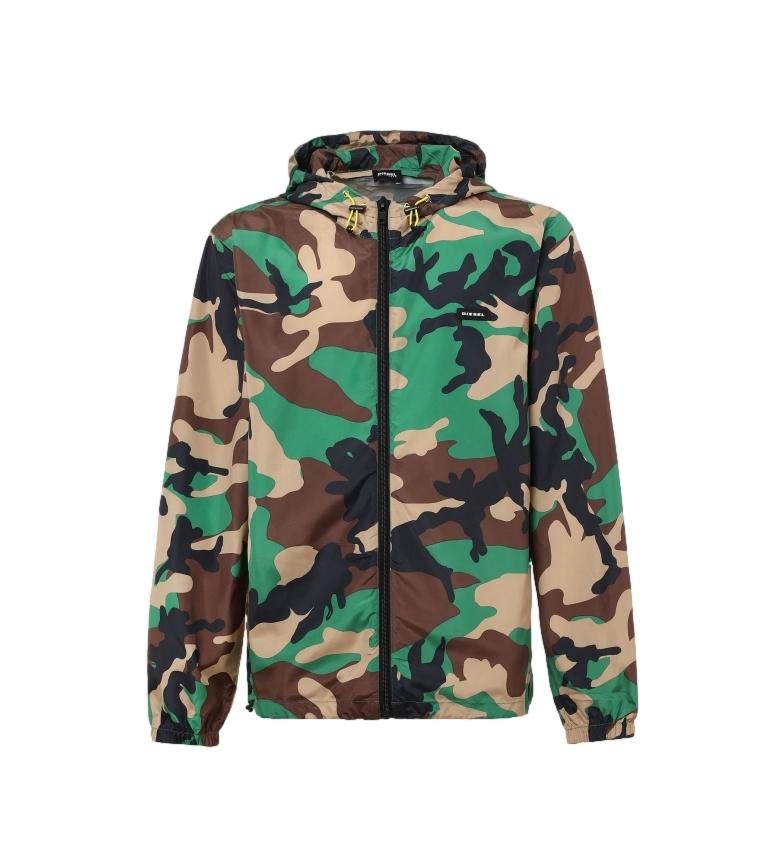 Comprar Diesel Waterproof jacket Bmowt-Windy-Fg camouflage