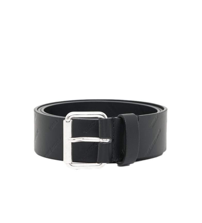 Comprar Diesel Cintura B-Olly in pelle nera -4cm-