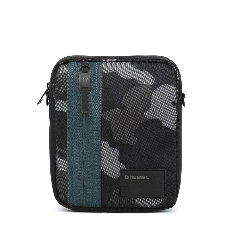 Comprar Diesel Discover-Me Oderzo Z black shoulder bag -18x22x5cm