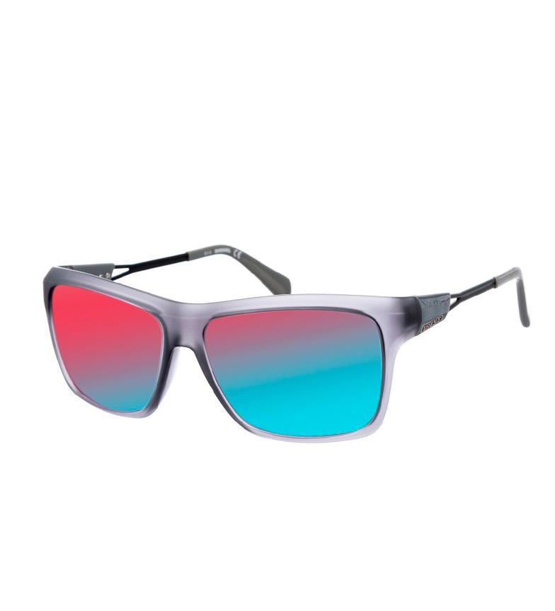 Diesel Gafas de sol acetato gris mate
