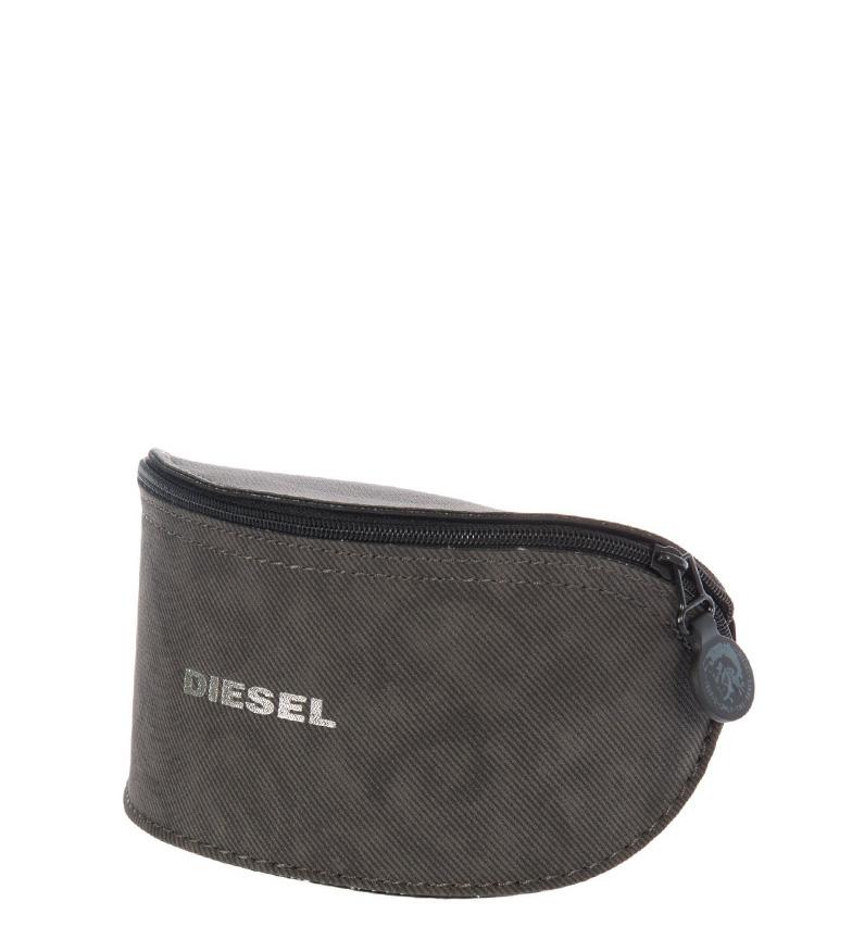 Diesel Gafas de sol acetato verde, camo