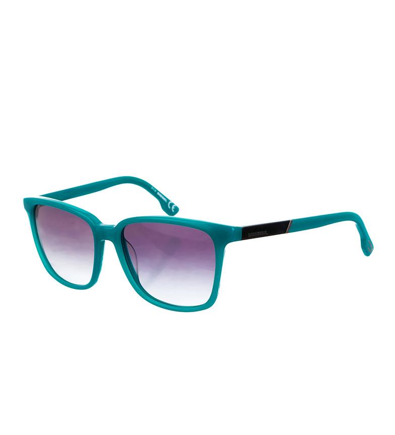 Diesel Gafas de sol acetato habana, azul