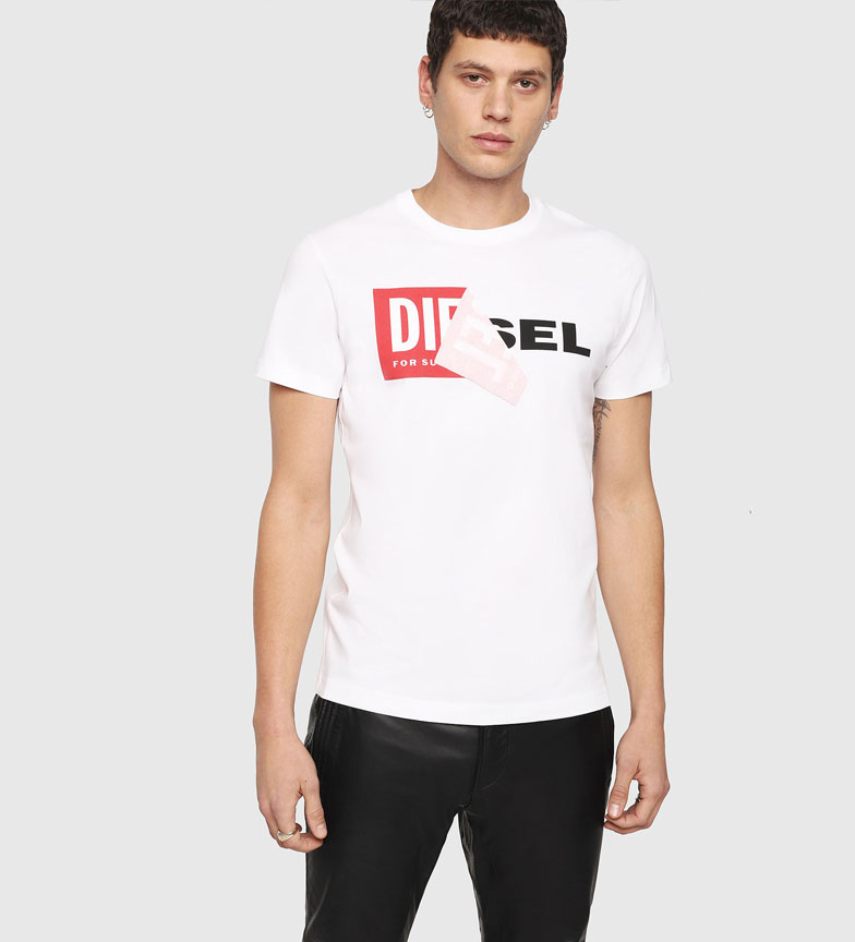 Comprar Diesel T-Shirt Diego-QA white