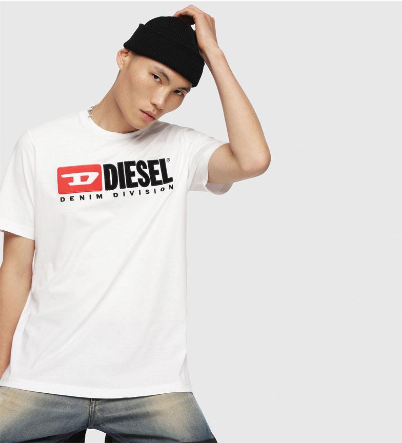 Comprar Diesel T-Just-Division t-shirt white