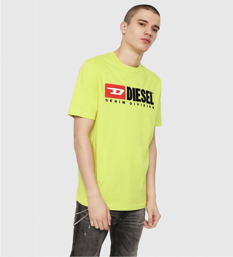 Comprar Diesel Camiseta T-Just-Division amarillo