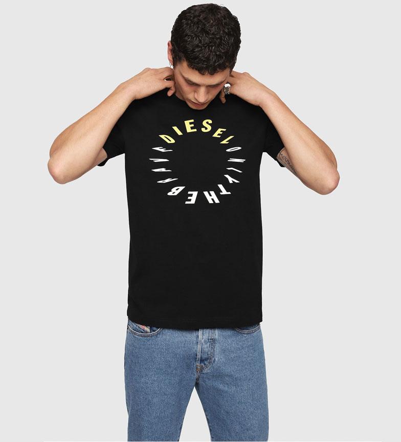 Comprar Diesel Camiseta Diego-Y2 preto