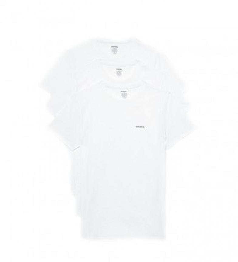 Comprar Diesel Confezione da 3 magliette bianche UMTEE-Jakethreepack