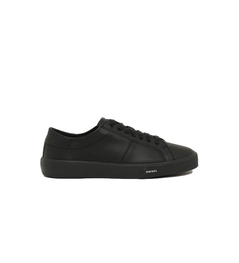 Diesel Zapatillas de piel S-Myrodi LC negro