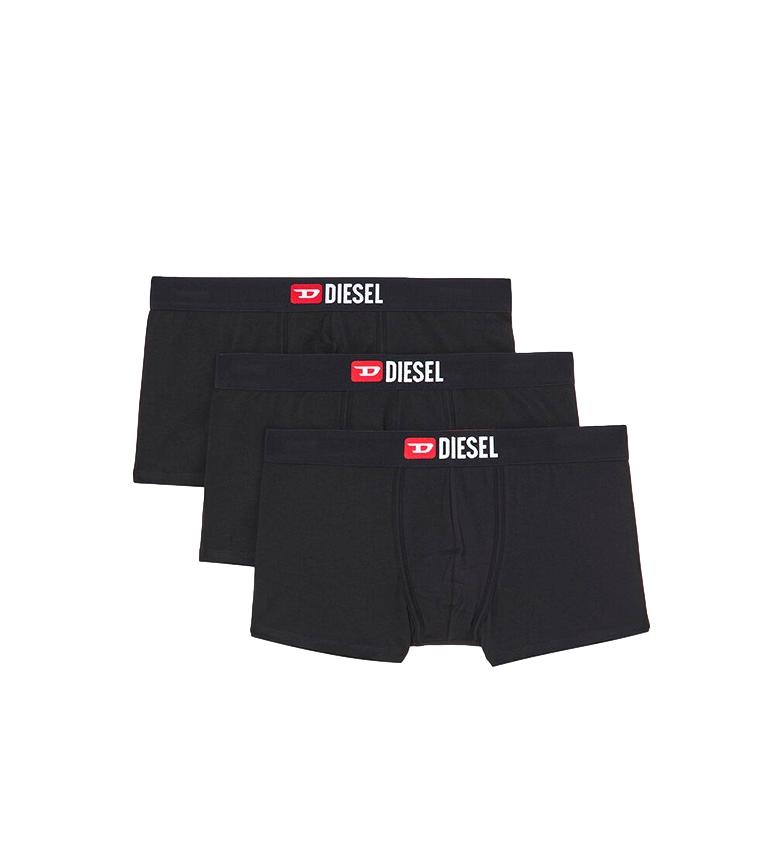 Comprar Diesel 3 Pack of boxers UMBX-Damienthreepack black