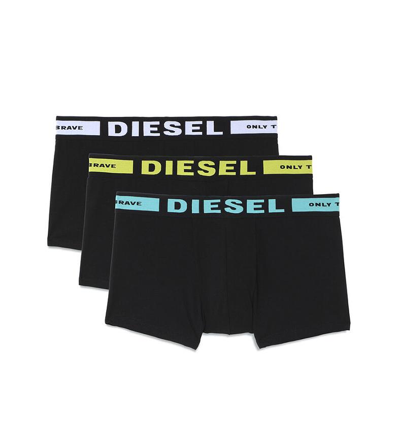 Comprar Diesel Pack de 3 Boxers UMBX-Korty negro