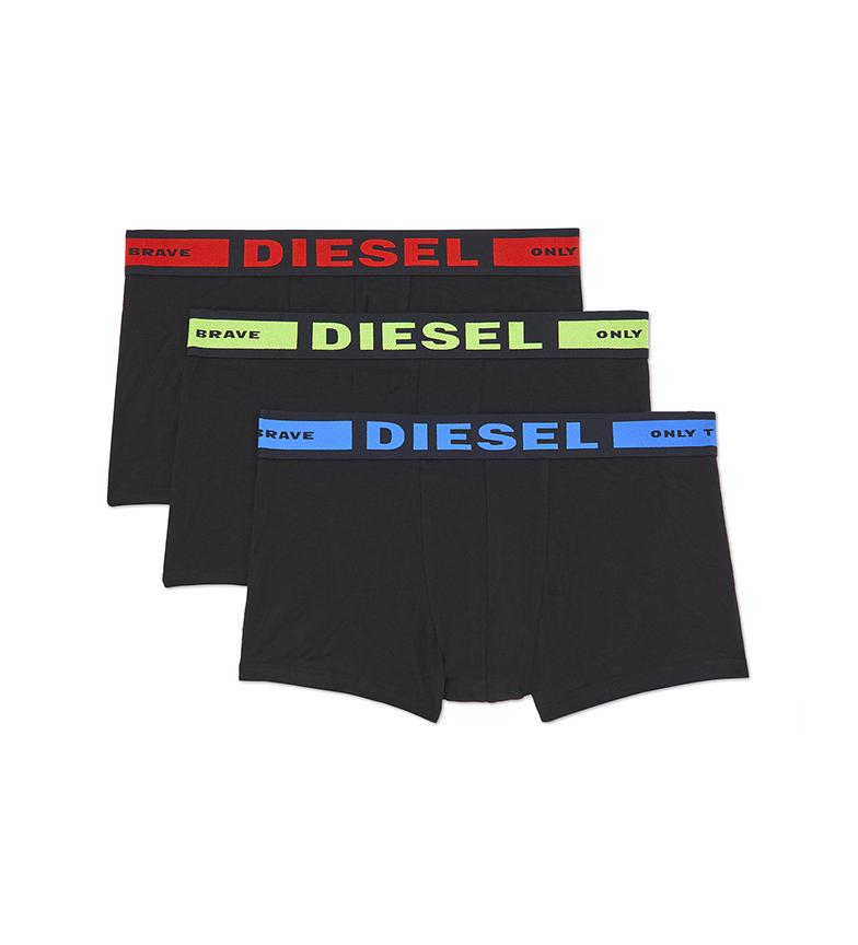 Comprar Diesel Pack of 3 UMBX-Kortythreepack black