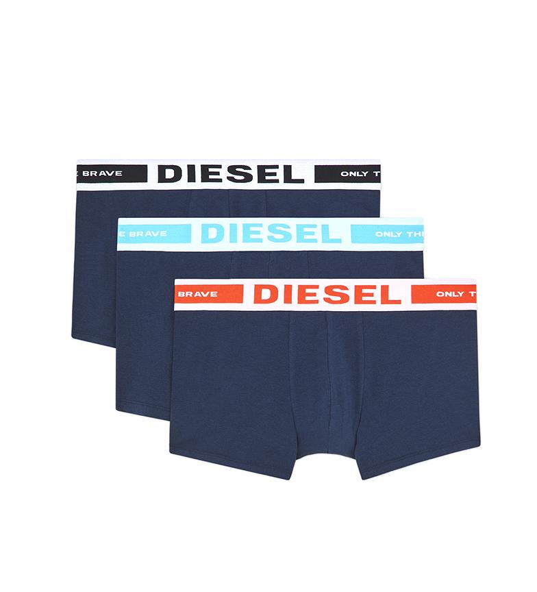 Comprar Diesel Embalagem de 3 UMBX-Kortythreepack azul