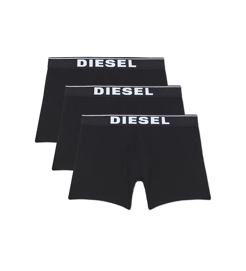 Comprar Diesel Pacote de 3 Boxers UMBX-Sebastian preto