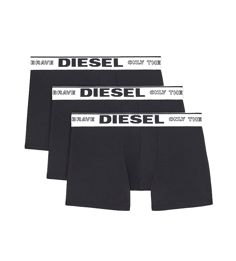 Comprar Diesel Pack 3 Boxers Sebastian preto