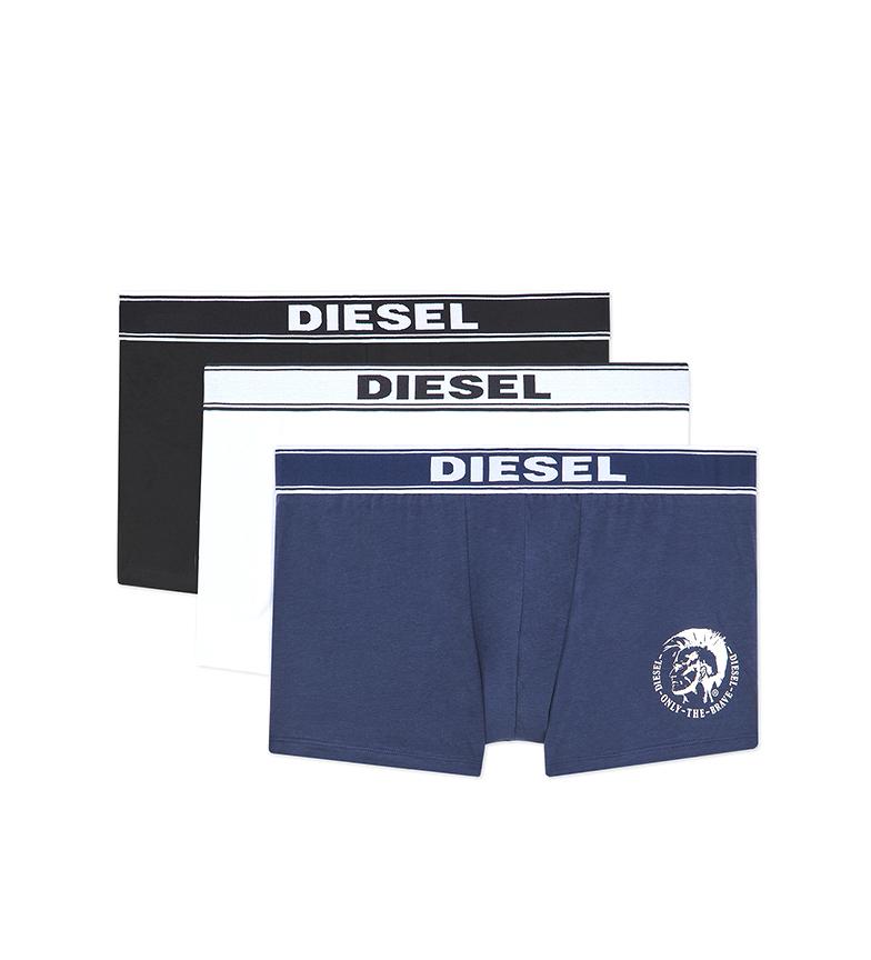 Comprar Diesel Confezione da 3 UMBX-Shawnthreepack nero, bianco, blu