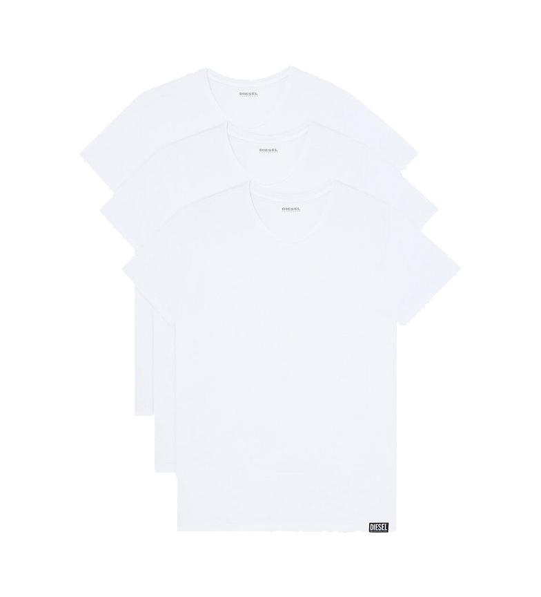 Comprar Diesel Lot de 3 sous-vêtements UMTEE-Randal blanc