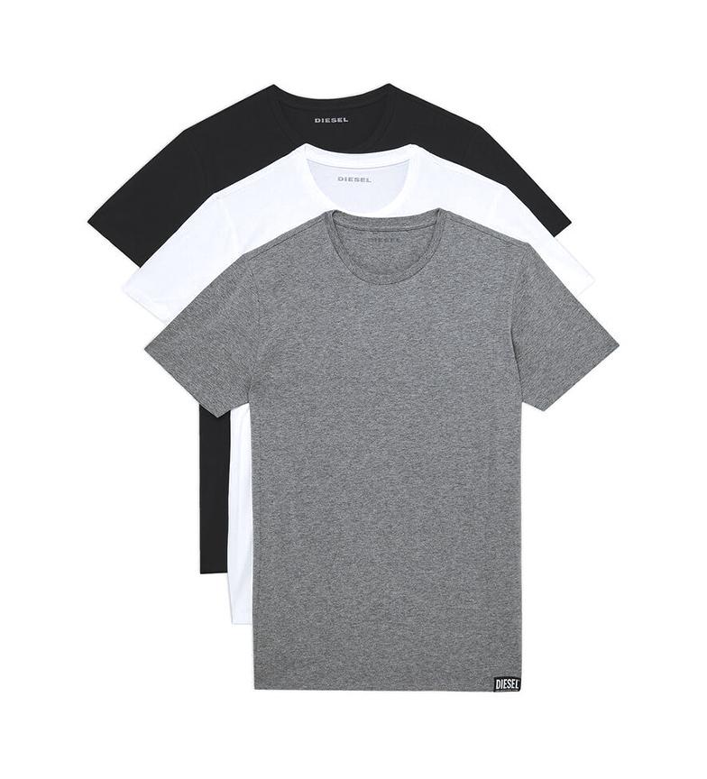 Comprar Diesel Lot de 3 sous-vêtements UMTEE-Randal blanc, gris, noir