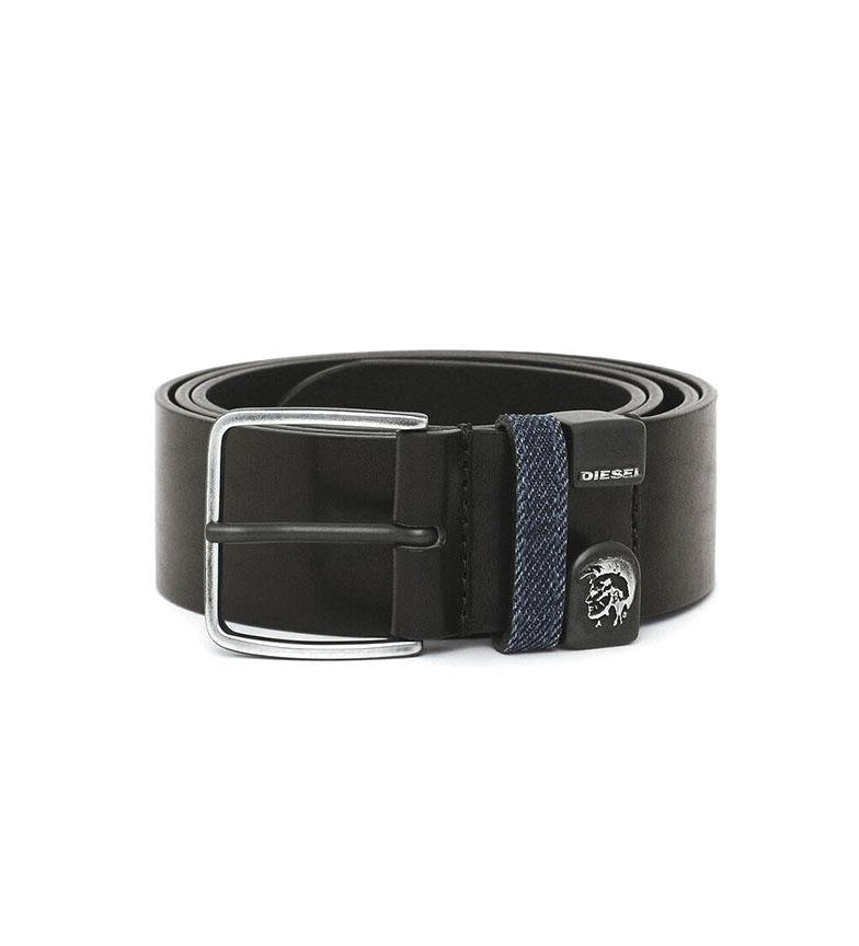 Comprar Diesel Cinturón de piel B-Moho negro