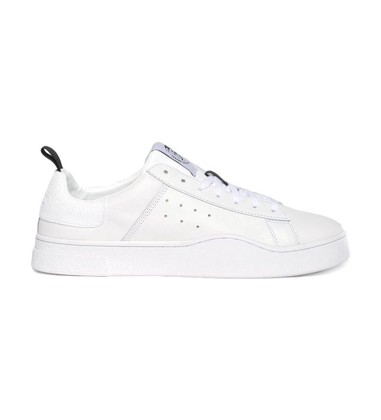 Comprar Diesel S-Clever sapatos de couro baixo branco