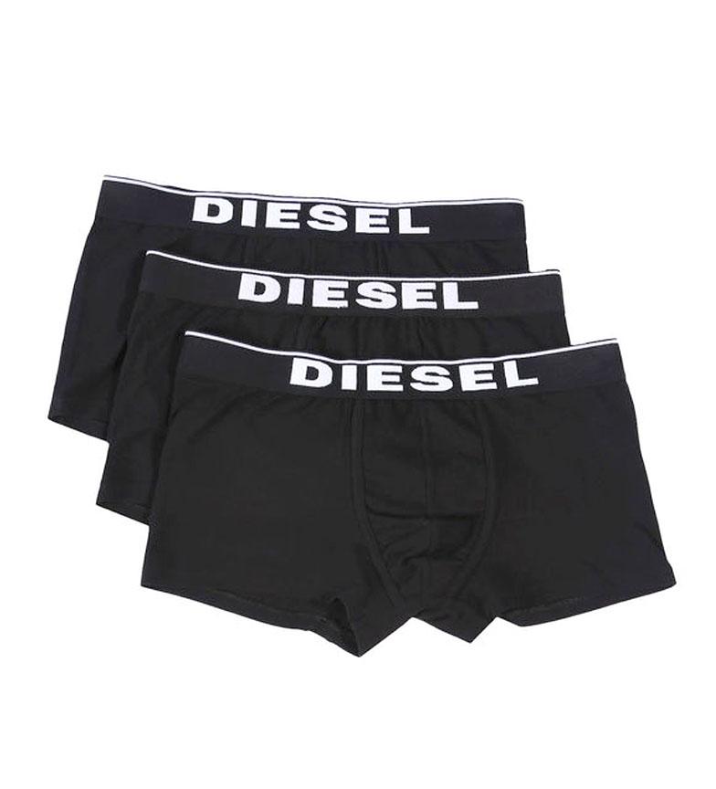 Comprar Diesel Confezione 3 Damien Boxers nero