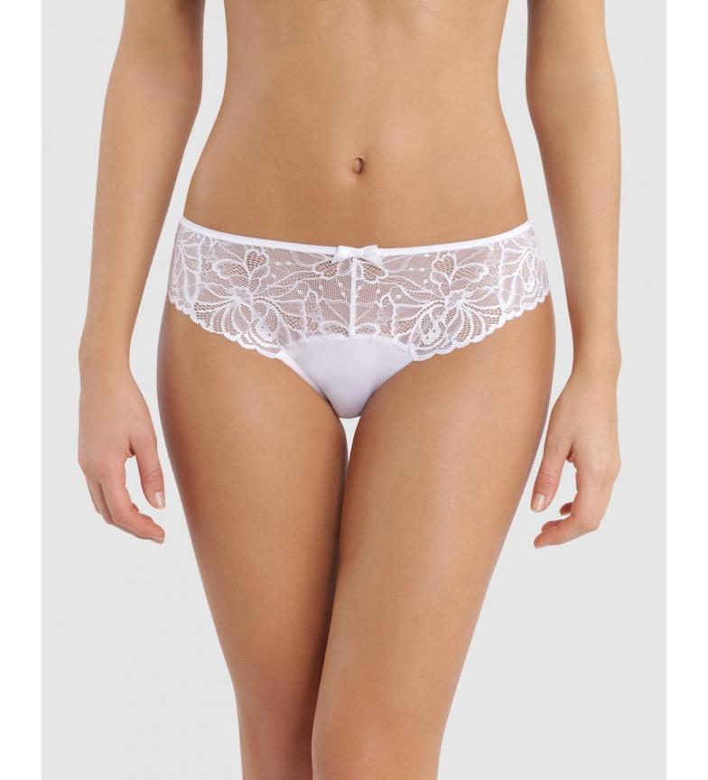 DIM Generoso Essentiel Meias-calças brancas