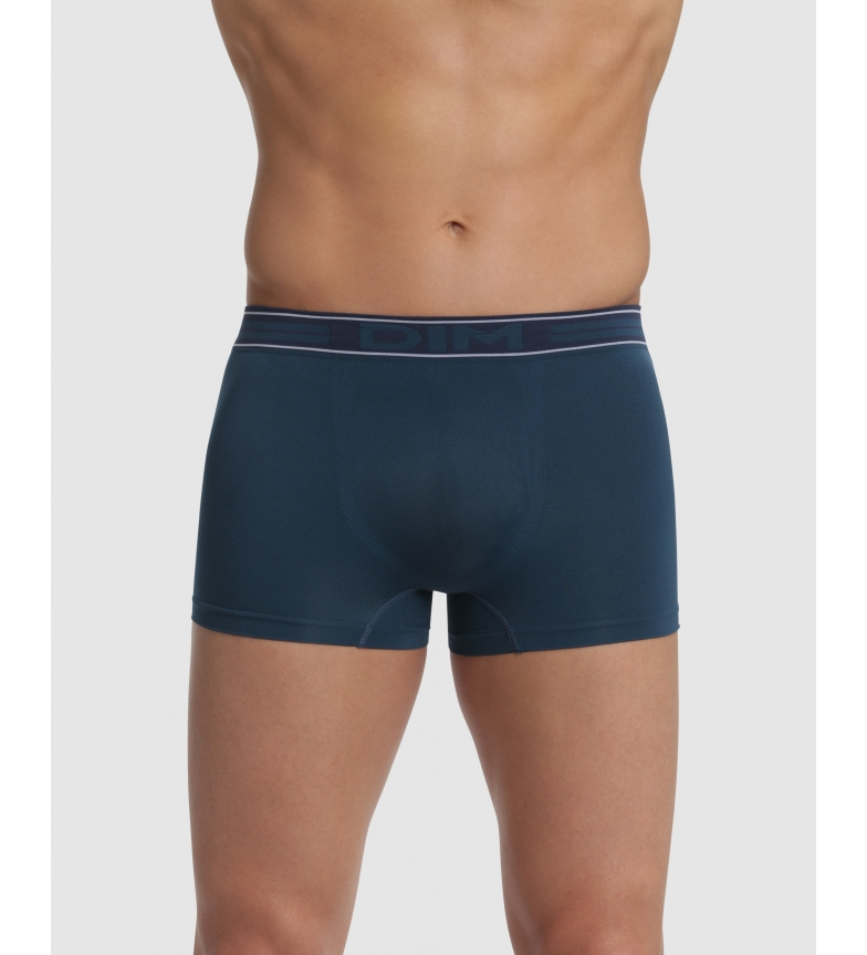 Comprar DIM Pack of 2 blue seamless boxers