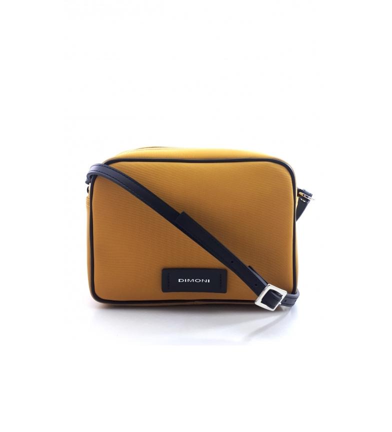 Dimoni Y981STTOMO Mustard Shoulder Bag -17x23x9cm