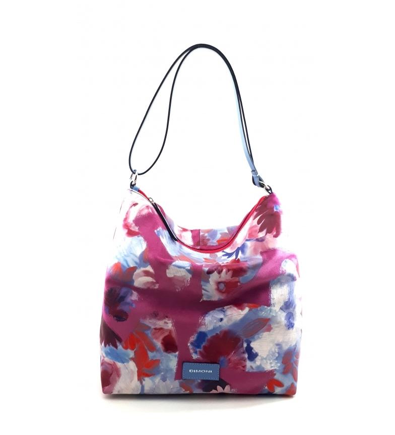 Comprar Dimoni Leather Shoulder Bag AC222STEDFUPLAZ pink -32x31x12cm