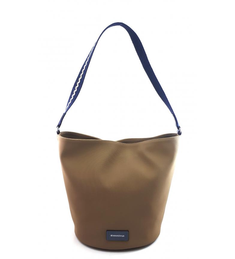 Dimoni Shoulder Handbag AC987STTOTAAZ taupe -29x25x20cm